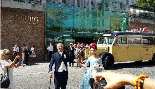 عکس: جشن عروسی در هتل محل مذاکرات!
